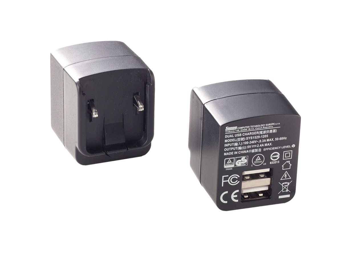 SYS1529-1205 dual USB inlet